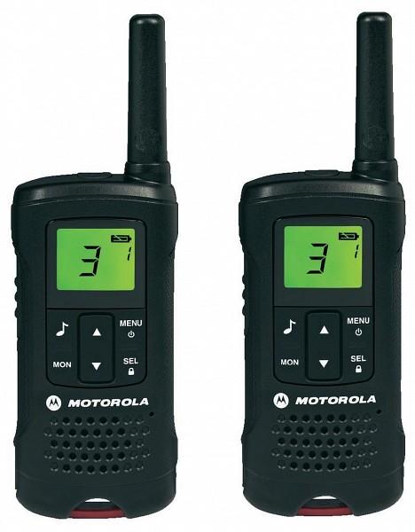 Motorola Adóvevő Walkie Talkie készülék 8 km hatótávolsággal TLKR T60
