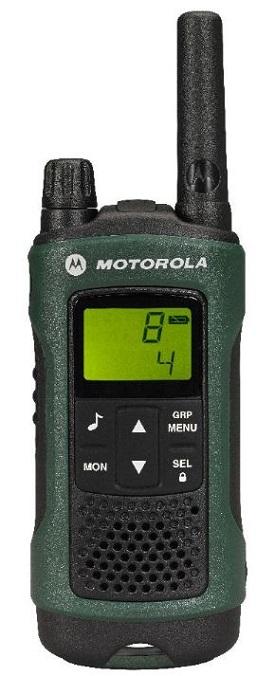 Motorola TLKR T81 Hunter adó-vevő Walkie Talkie készülék időjárásálló 1 darab